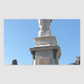 The monument Quattro Mori ( of the Four Moors ) Sticker
