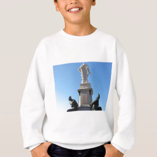 The monument Quattro Mori ( of the Four Moors ) Sweatshirt