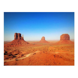 The Monument Valley in Utah Postcard