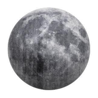The Moon Cutting Board
