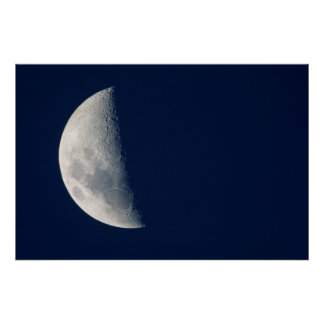 The Moon From Howick, Kwazulu-Natal Poster