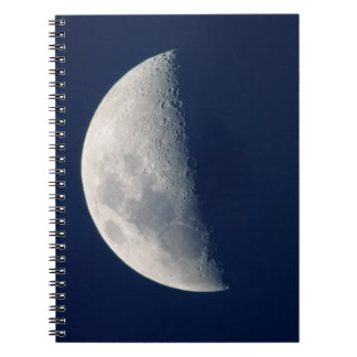 The Moon From Howick, Kwazulu-Natal Spiral Note Book