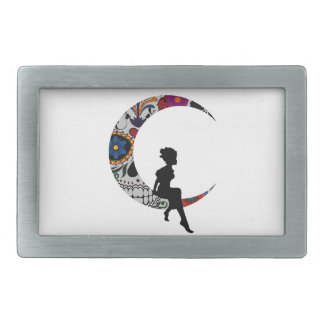 THE MOON GIRL BELT BUCKLE