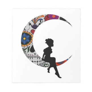 THE MOON GIRL NOTEPAD