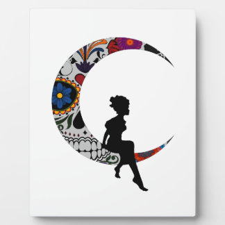 THE MOON GIRL PLAQUE