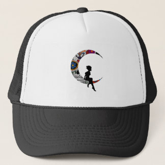 THE MOON GIRL TRUCKER HAT