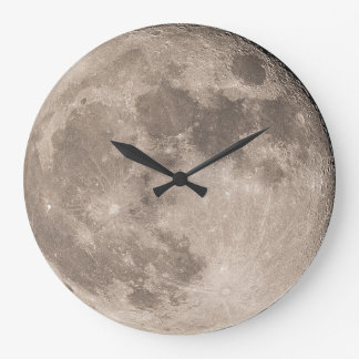 The Moon Large Clock