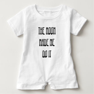 The Moon Made Me Do It Baby Romper