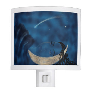 The Moon Maiden Pillow Nightlight Nite Lite