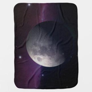 The Moon on Baby Blanket