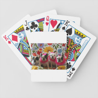 The Moon Pieds Flower Power Bicycle Playing Cards