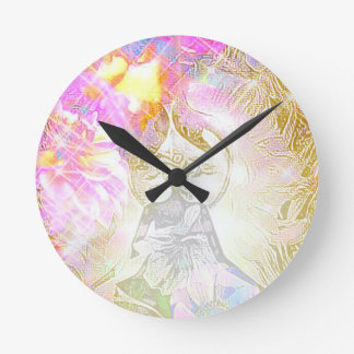 The Moon Round Clock