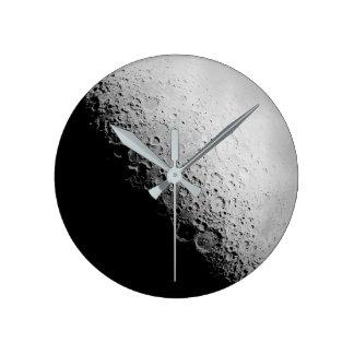 The Moon  |  Round Wall Clock
