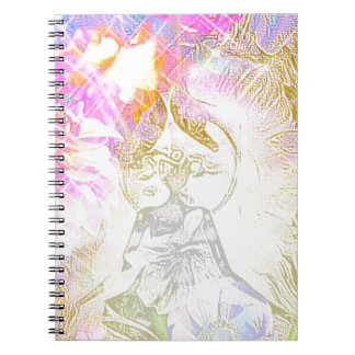The Moon Spiral Notebook