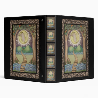 The Moon Tarot Card Vinyl Binders