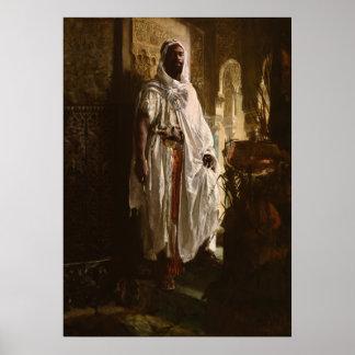 The Moorish Chief African Art Poster