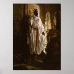 The Moorish Chief African Art Print