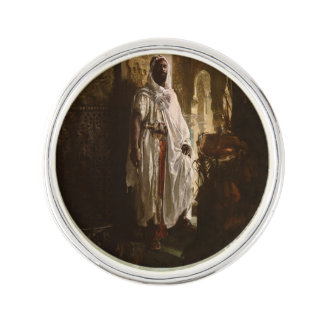 The Moorish Chief African Portrait Lapel Pin