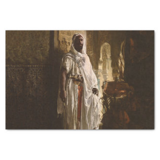 The Moorish Chief African Portrait Tissue Paper
