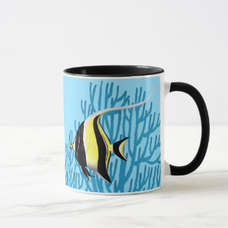 The Moorish Idol Reef Fish Mug