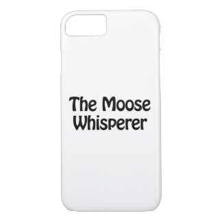 the moose whisperer iPhone 7 case