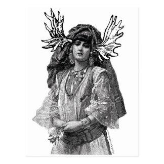 THE MOOSEDONIANS: Woman Postcard