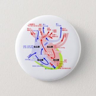 The more detailed heart japanese 2 inch round button
