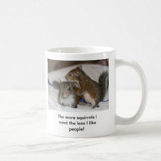 The more squirrels Less people mug
