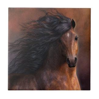 The Morgan Horse Art Tile