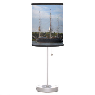 The Morgan Whaling Ship Table Lamp