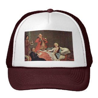The Morning Chocolate, By Longhi Pietro Trucker Hat