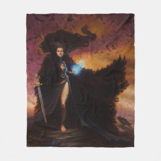 The Morrighan Fleece Blanket