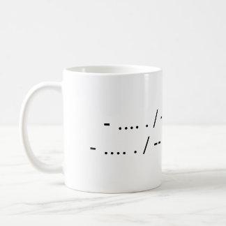 The Morse the Merrier Coffee Mug