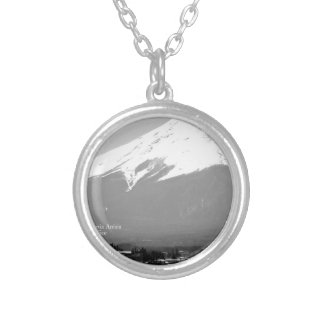 """""""The most famous select shop in the world azu """" Silver Plated Necklace"""
