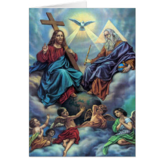 The Most Holy Trinity Card