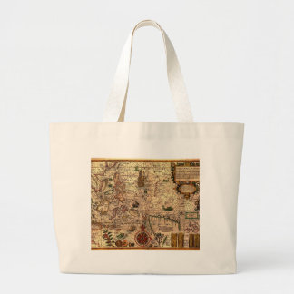 the most important hictoric Southeast Asia Map Jumbo Tote Bag