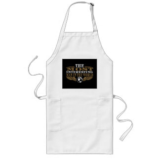 The Most Interesting Man in the World Long Apron