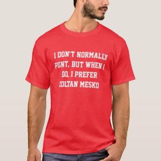 The Most Interesting Punter Zoltan Mesko T-Shirt