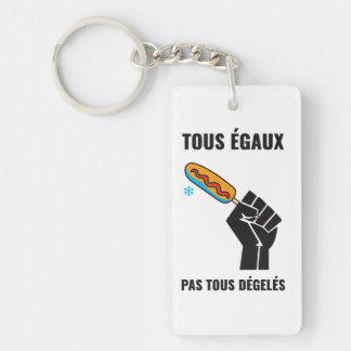The most not thawed out limps Quebec humour Keychain