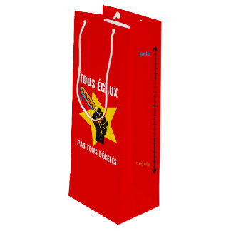 The most not thawed out limps Quebec humour Wine Gift Bag