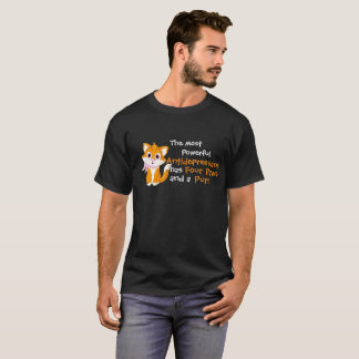 The Most Powerful Antidepressant Has Four Paws And T-Shirt