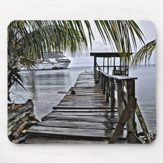 The most relaxing dock mouse pad