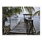 The most relaxing dock postcard