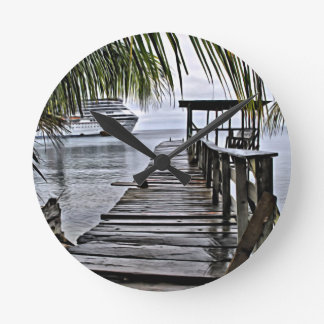 The most relaxing dock round clock