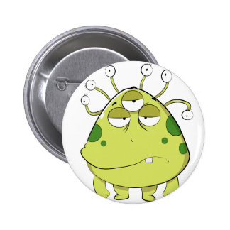 The Most Ugly Alien Ever 2 Inch Round Button