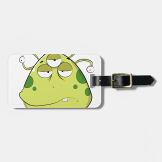 The Most Ugly Alien Ever Luggage Tag