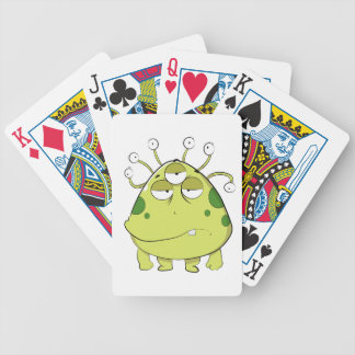 The Most Ugly Alien Ever Poker Deck