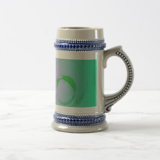 The Most Unique Green Abstract Design Mugs