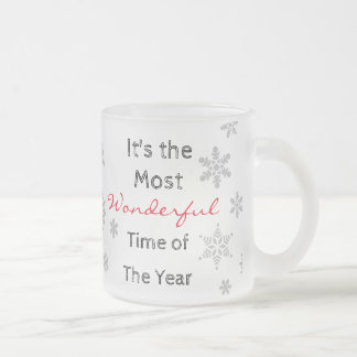 The Most Wonderful Time of the Year Frosty Mug