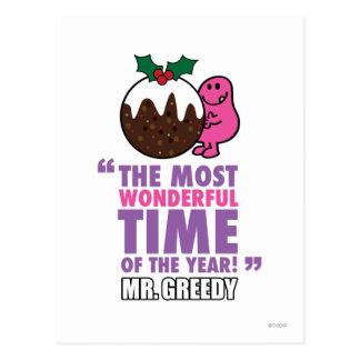 The Most Wonderful Time Postcard